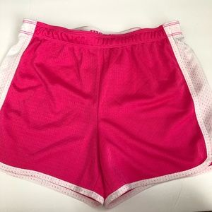 Justice Pink Athletic Shorts Size 14